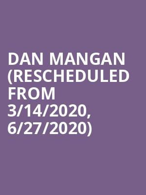 Dan Mangan (Rescheduled from 3/14/2020, 6/27/2020) at Centre In The Square