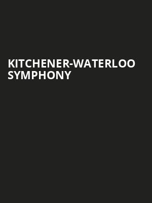 Kitchener-Waterloo Symphony at Centre In The Square
