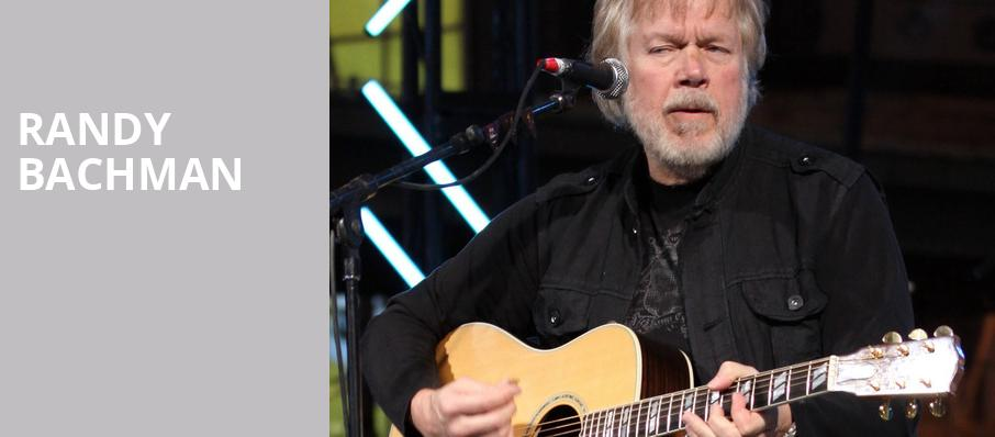 Randy Bachman, Centre In The Square, Kitchener