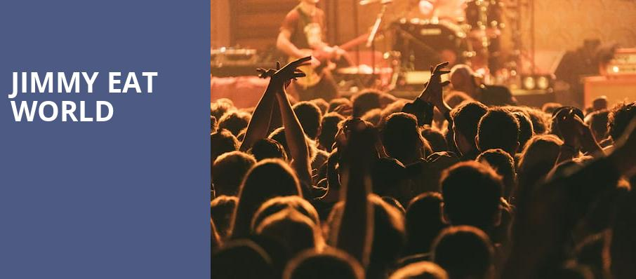 Jimmy Eat World, Elements Night Club, Kitchener